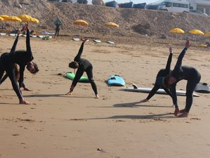 15 Day Combined Surf Camp and Yoga Retreat Package in Aourir, Agadir