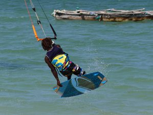 7 Days Beginner Kite Surf Camp in the Beautiful Lagoon in Zanzibar, Tanzania