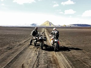 7 Day Adventurous Dual Sport Guided Motorcycle Tour in Iceland