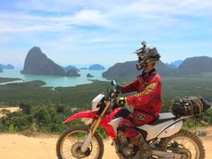 3 Day Guided Rally Motorcycle Tour with Mixed On and Off-Road from Phuket to Phang Nga, Thailand