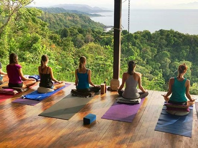 8 Days Pure Yoga Retreat in Costa Rica