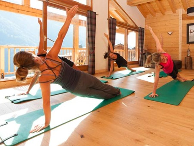 5 Days French Alpine Yoga & Healthy Eating Holiday