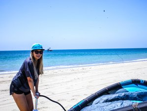 8 Days Deluxe Womens Kiteboarding and Yoga Retreat in Peru North Shore
