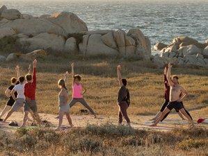 8 Days Organic Vegetarian Yoga and Sailing, Sardinia and Corsica, Italy and France