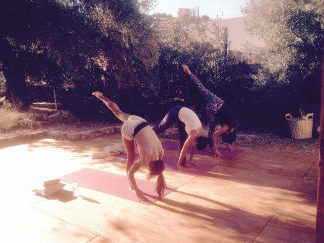 8 jours en stage de yoga existence joyeuse en Crète avec Julie