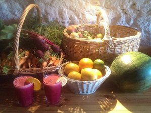 8 Days Juice Detox with Beginners Hatha Yoga Retreat in Melo, Portugal