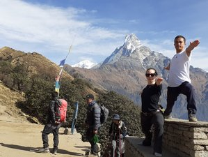 10 Day Mardi Himal Trekking Adventure and Yoga Retreat in Nepal