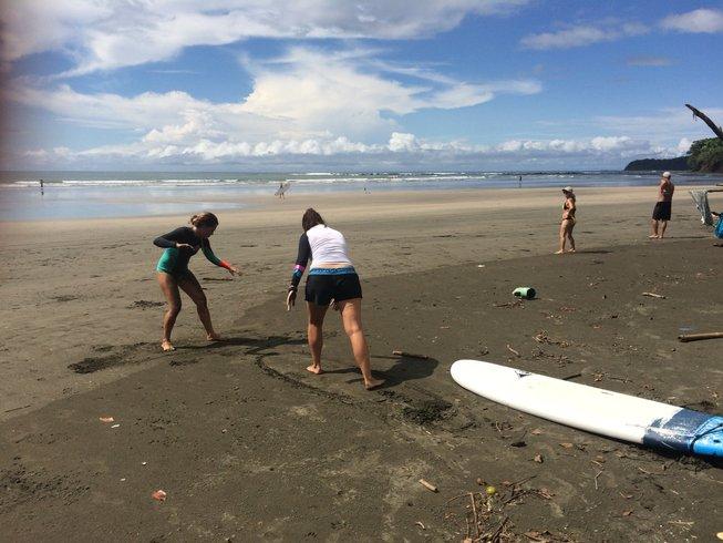 7 Tage Verjüngendes Yoga und Surf Camp in Santa Catalina, Veraguas, Panama