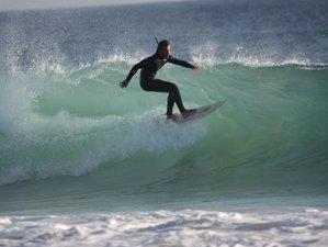 7 Days Beginner Surf Camp Tour Oporto to Algarve, Portugal