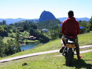 2 Day Guided The Guatape Day Trip Motorcycles or Scooters Tour in Colombia