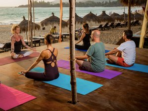 8 Days Vinyasa Flow Beach Yoga Retreat in Goa, India
