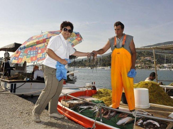 8 Days Greek Odyssey Cooking Holidays in Poros, Greece