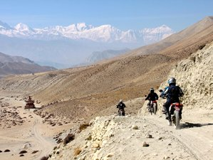 14 Day Guided Motorcycle Tour of the Upper Mustang in Nepal