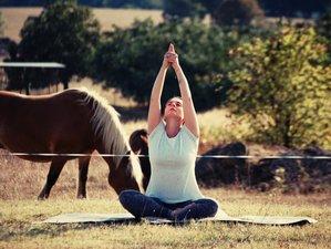 3 jours de stage de yoga au Domaine de la Gâcherie, Périgord vert