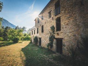 6 jours de hatha yoga & permaculture vegan entre montagnes, forêts et rivières sur la Côte d'Azur