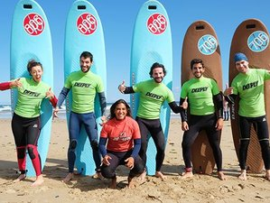 8 Days Budget Surf Camp in Cedeira, Galicia, Spain