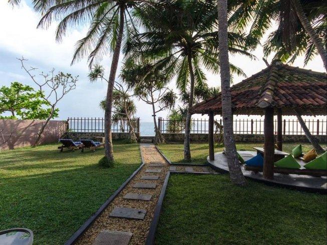 8 Days Beachfront Yoga Retreat in Dalawella, Sri Lanka
