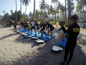 3 Days Fantastic Surf Camp in Lombok, Indonesia