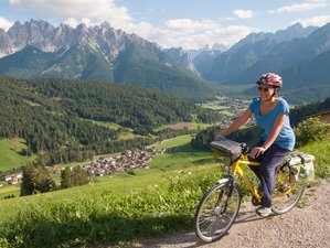 7 Days Paths of the Dolomites Self-Guided Cycling Tour in Italy