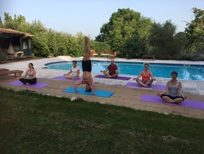 6 Days Relax, Unwind, and Refocus Yoga Holiday with Lynda Creegan in Nabinaud, France