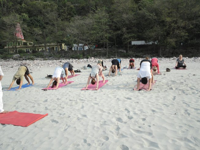 28 Days 200hr Hatha Yoga Teacher Training in Rishikesh, India
