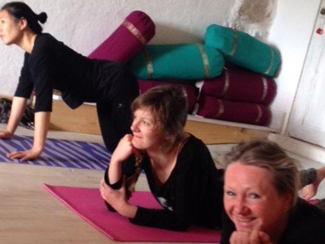 29 jours-200h en formation de professeur de yoga sur la Côte d'Azur, France