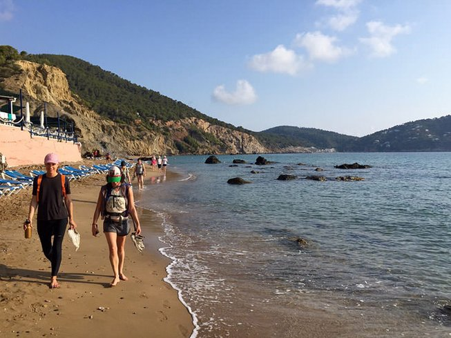 7 Days Walking and Yoga Retreat in Ibiza, Spain