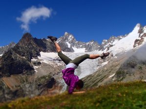 3 Day Weekend in The French Alps Yoga and Hiking Holiday in Bellevaux, Auvergne-Rhône-Alpes
