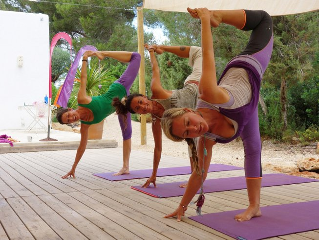 7 Days New Year Revitalization Yoga Retreat in Spain