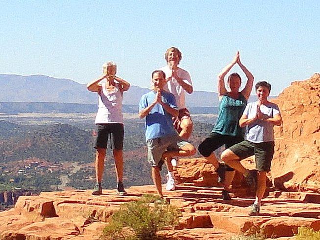 6 días retiro de yoga, meditación y senderismo en Arizona, EUA