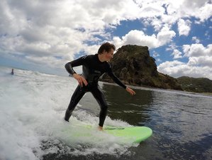 2 Days Surf and Stay Camp in Auckland, New Zealand