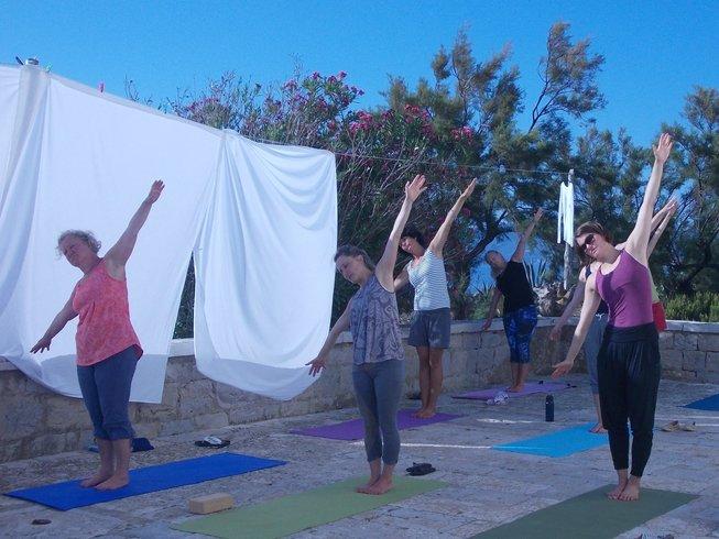 8-Daagse Yoga en Meditatie op een klein eiland nabij Korcula