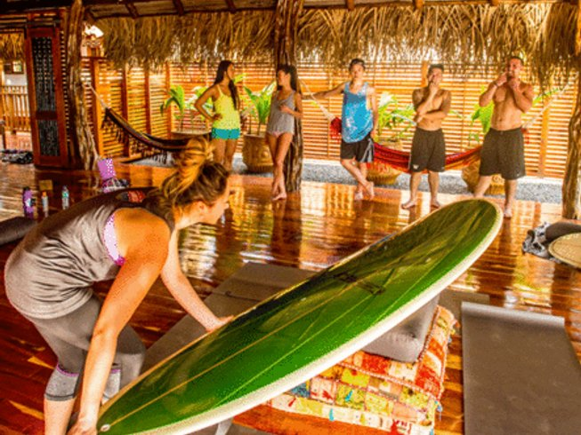 7 Days Sansara Surf and Yoga Retreat in Panama