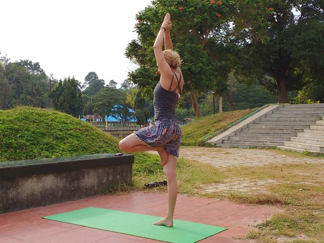 5 Days Inner and Outer Forest Yoga and Hill Meditation Holiday in India