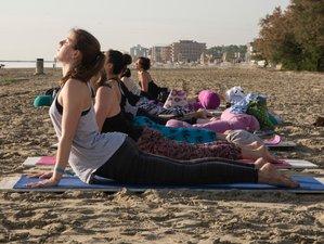 6 Day Affordable Beach Yoga Retreat in Misano Adriatico, Province of Rimini