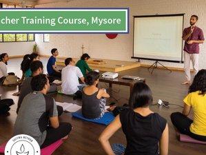 28 Days, Level 2 Yoga Teacher Training in Mysore, India