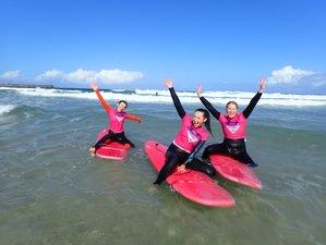 8 Day Surf and Yoga Retreat in Peniche, Portugal