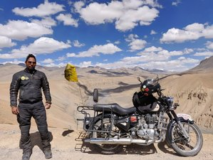11 Day Spiti Himalayan Adventure and Guided Motorcycle Tour