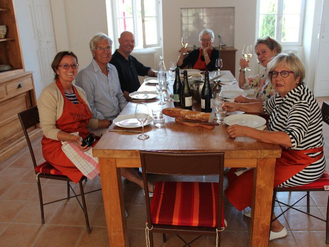 7 Days Cooking Holiday in France