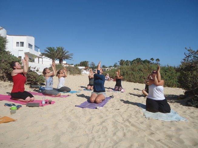 8 jours en vacances de yoga cool à Curaçao.