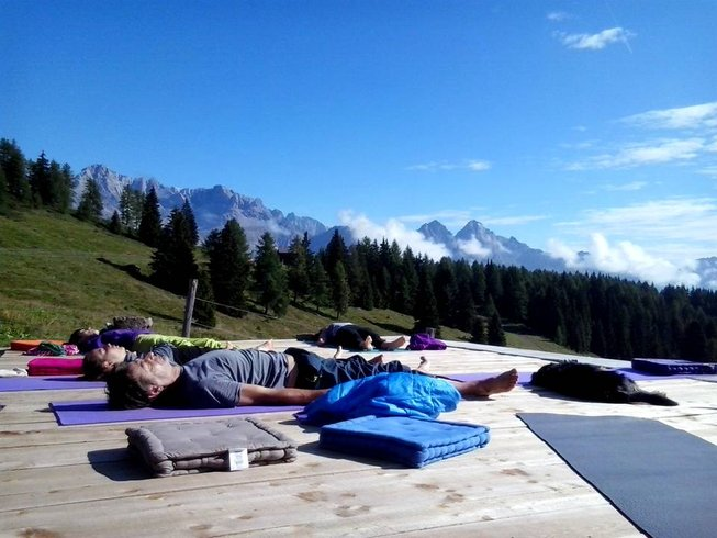 9 Days Yoga Retreat in The Dolomites, Italy