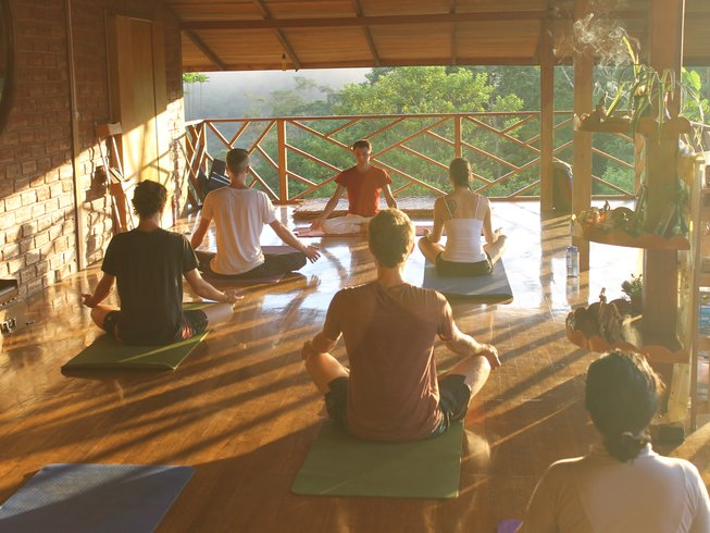Yoga Abenteuer mit Pablo Maha am Amazonas, Ecuador