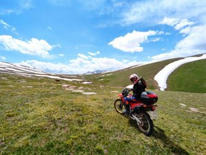7 Day Nomads Ride Guided Motorcycle Tour in the Untouched Kyrgyzstan