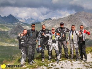 8 Day Alps Adventure Guided Motorcycle Tour in Italy and France