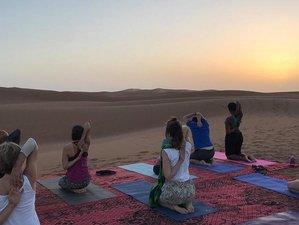 8 Tage Yoga Reise mit Wüstenwanderung in der Wüste Marokkos mit Fiona und Ali