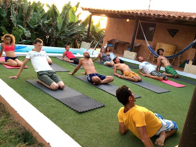 5 Days Surfing and Yoga Retreat in Spain