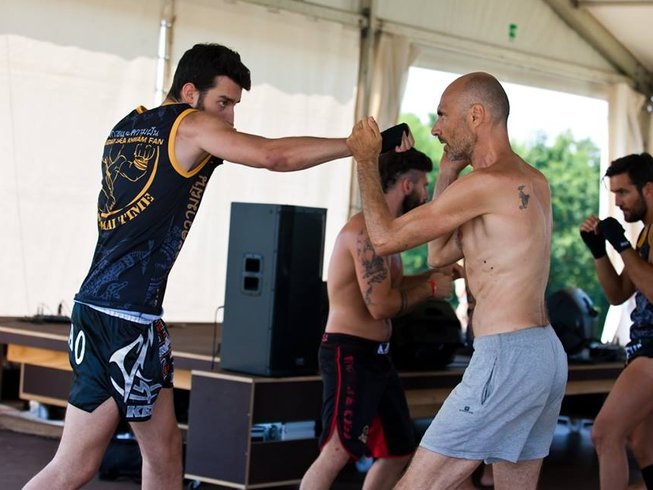 7 Days Muay Thai, BJJ, Functional training & Yoga camp Silent Warrior Training in Sezzadio, Italy