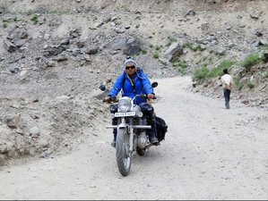 14 Days Guided Motorcycle Tour through Scenic Landscapes in Charming Leh Ladakh, India