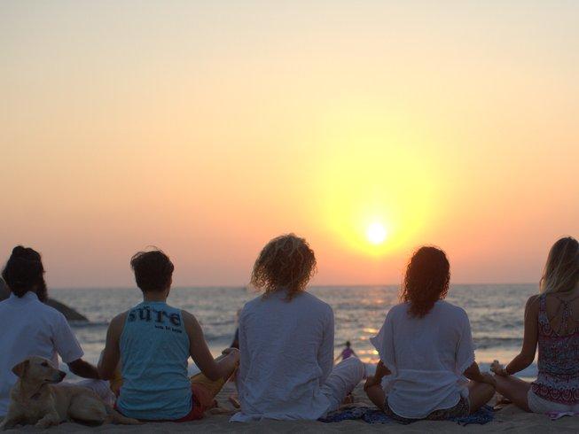 27 Days 200-Hour Yoga Teacher Training in Goa Beach, India