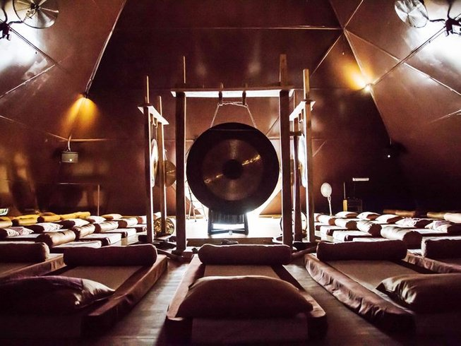 4 Days Ancient Sound Healing Experience Yoga and Meditation Retreat in Bali, Indonesia